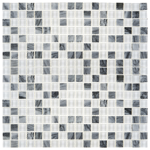 Pastilha MT 712 30x30cm Glass Mosaic