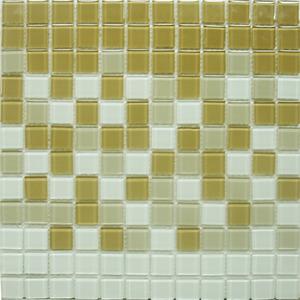 Pastilha Orient Bege, Branco e Caramelo 30x30 cm Vetromani