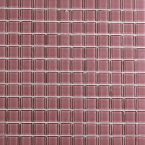 Pastilha Orient Rosa Escuro 30x30 cm Vetromani