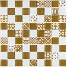 Pastilha Patchwork PW4004 29,2x29,2cm Glass Mosaic