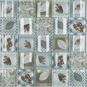 Pastilha Patchwork PW509 30x30cm Glass Mosaic