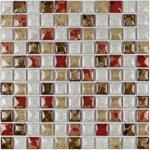 Pastilha PE2502 30x30cm Glass Mosaic
