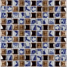 Pastilha PE2504 30x30cm Glass Mosaic