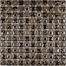 Pastilha PE2507 30x30cm Glass Mosaic