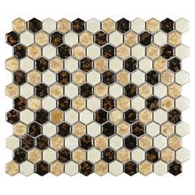 Pastilha PE2511 30x26cm Glass Mosaic