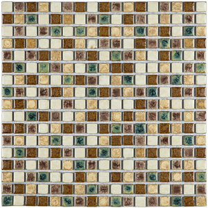 Pastilha PE2514 30x30cm Glass Mosaic