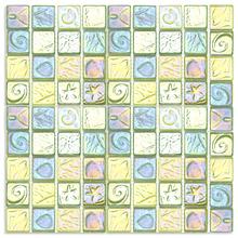 Pastilha SE40 29,2x29,2 Glass Mosaic