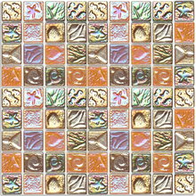 Pastilha Sea SE20 29,2x29,2cm Glass Mosaic