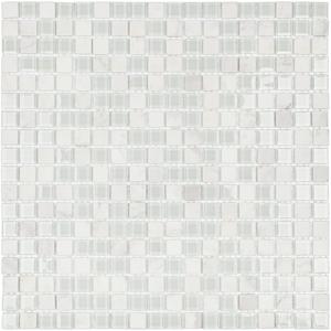 Pastilha Slim SMG07 30,5x30,5cm Glass Mosaic