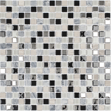 Pastilha Slim SMG102 30,5x30,5cm Glass Mosaic