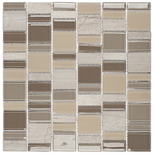 Pastilha SP03 30,3x30cm Glass Mosaic