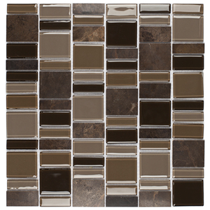 Pastilha SP04 30,3x30cm Glass Mosaic