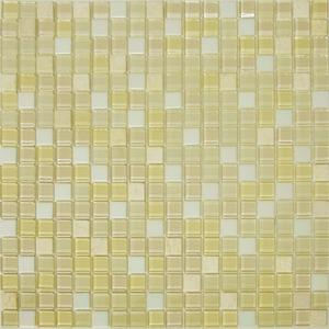 Pastilha Stone Shine Palha 30x30 cm Vetromani
