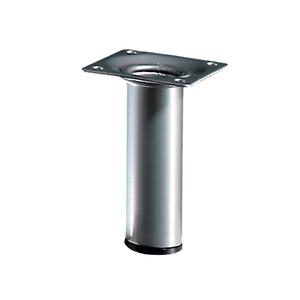 Pé para Mesa Alumínio 100x30mm até 50,00kg Cinza