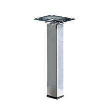 Pé para Mesa Alumínio 150x25mm até 50,00kg Cinza