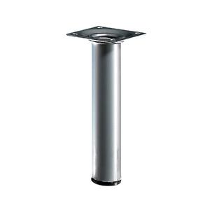 Pé para Mesa Alumínio 150x30mm até 50,00kg Cinza