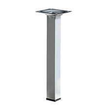 Pé para Mesa Alumínio 200x25mm até 50,00kg Cinza