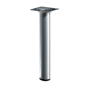 Pé para Mesa Alumínio 200x30mm até 50,00kg Cinza