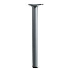 Pé para Mesa Alumínio 300x30mm até 50,00kg Cinza