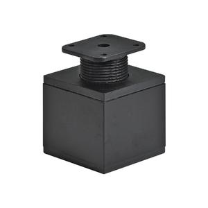 Pé para Móveis Aço Ajustável 60 à 90mm até 50,00kg Preto