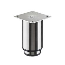 Pé para Móveis Aço Inox Ajustável 110 à 180mm até 50,00kg Prata