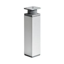 Pé para Móveis Alumínio Ajustável 150 à 180mm até 50,00kg Cinza