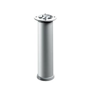 Pé para Móveis Alumínio Ajustável 200 à 230mm até 200,00kg Cinza