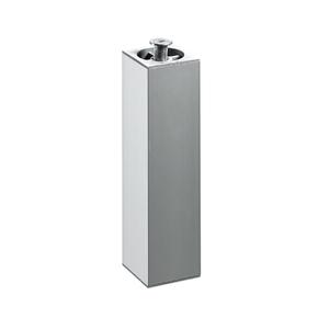 Pé para Móveis Alumínio Ajustável 200 à 230mm até 200,00kg Prata