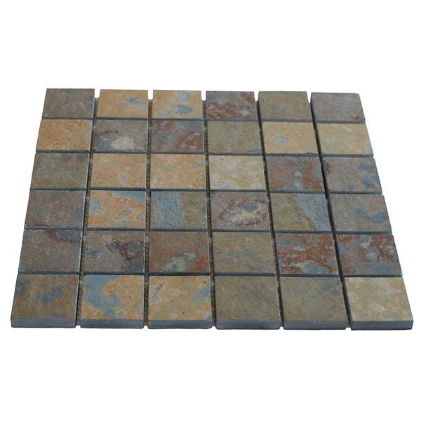 Pedra ard sia mosaico ferrugem 30x30cm micapel leroy merlin - Mosaico leroy merlin ...