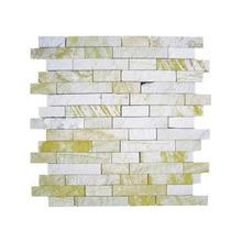 Pedra Arenito Mosaico Amarelo 30x30cm Henry Mosaicos