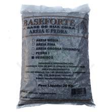 Pedra Britada 0 (Pedrisco) Saco 20Kg Baseforte