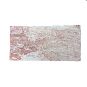 Pedra Caco Quartzito Rosa 20x40cm Espessura 15 a 25mm Quartzito