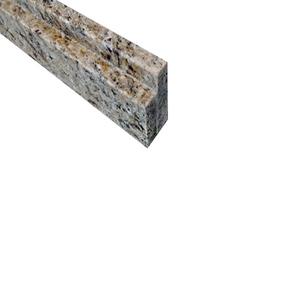 Pedra de Box Granito Amarelo Ouro 1,25x0,1m Legg
