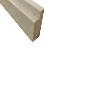 Pedra de Box Granito Bege Silest 1,55x0,1m Legg