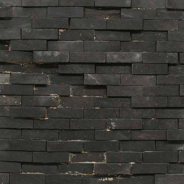 Pedra ferro mosaico preto 30x30cm henry mosaicos leroy for Mosaico leroy merlin