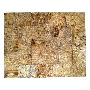Pedra Madeira Amarela 11,5X23cm Pedras Fama