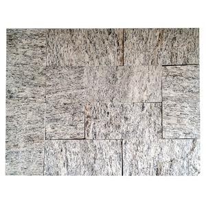 Pedra Madeira Branca 11,5X23cm 10 a 16mm Pedras Fama