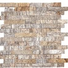 Pedra Madeira Mosaico Rosa 30x30cm Henry Mosaicos