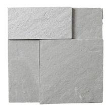 Pedra Natural Mosaico Telado Linha Quadrante Verde Turmalina (VT-0) 10x20x20 Tela 30x30cm Revestir