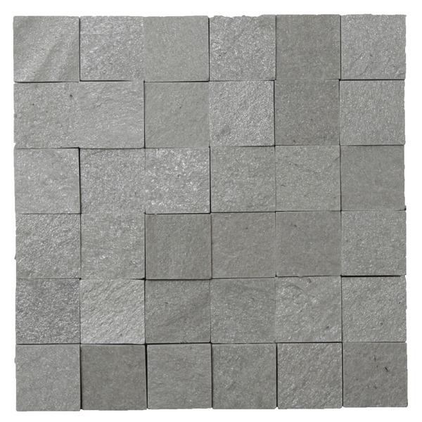Pedra natural mosaico telado linha quadrante eco verde for Mosaico ceramico exterior
