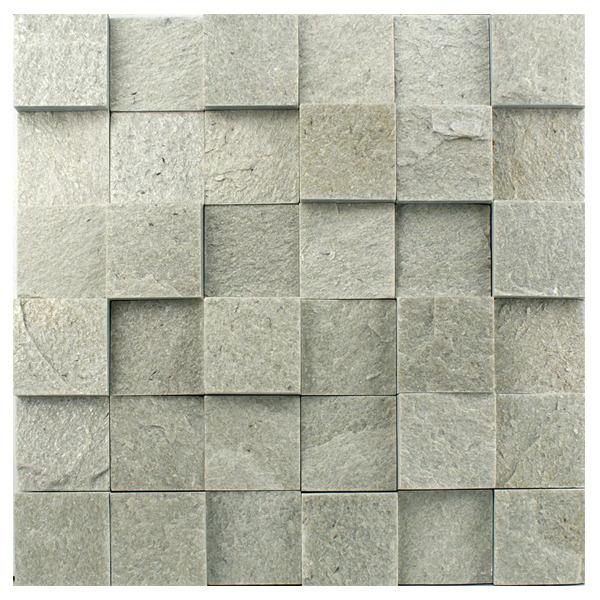 Pedra natural mosaico telado linha quadrante verde - Mosaico leroy merlin ...