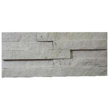 Pedra Natural Mosaico Telado Linha Exclusive Branco Paraíba 2.5mm Tela 12,5x30cm Revestir