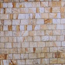Pedra Natural Madeira Amarela 11,5x23cm Decor Pedras