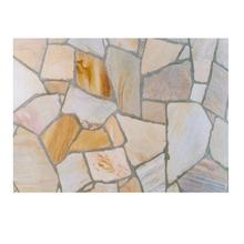 Pedra Natural Quartzito Caco Amarelo 15 a 30mm Falcon