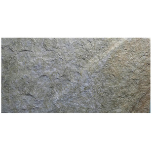 Pedra Natural Quartzito Ouro 20x40cm Revestir Pedras