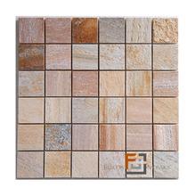 Pedra Quartzito Amarela Enquadratto 29,8x29,8cm Tupy Pedras