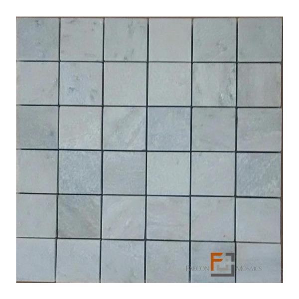 Pedra quartzito mosaico enquadrato claro 4 8 29 8x29 8cm for Mosaico leroy merlin