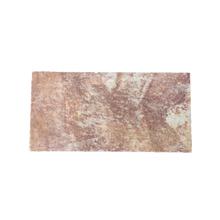 Pedra Quarzito Lisa Rosa 15x30cm Espessura 10 a 25 mm Quartzito