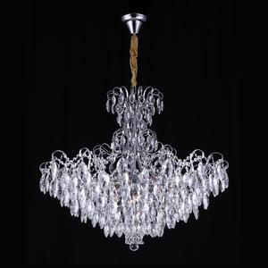 Pendente 12 Lâmpadas Transparente Milão Chandelie