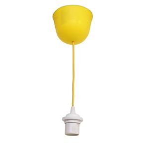Pendente 1 Lâmpada Amarelo July Inspire